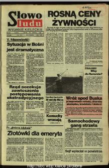 Słowo Ludu,1992 R.XLIII, nr 199 (wydanie radomskie)