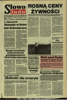 Słowo Ludu,1992 R.XLIII, nr 199