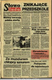 Słowo Ludu,1992 R.XLIII, nr 206 (wydanie radomskie)