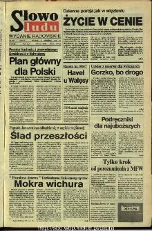 Słowo Ludu,1992 R.XLIII, nr 210 (wydanie radomskie)