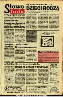 Słowo Ludu,1992 R.XLIII, nr 211 (wydanie radomskie)