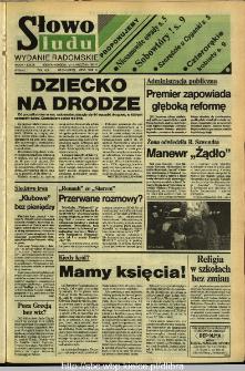Słowo Ludu,1992 R.XLIII, nr 214 (wydanie radomskie)