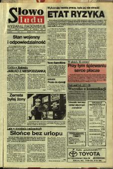 Słowo Ludu,1992 R.XLIII, nr 223 (wydanie radomskie)