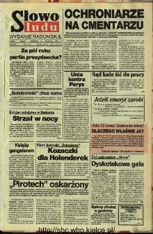 Słowo Ludu,1992 R.XLIII, nr 224 (wydanie radomskie)
