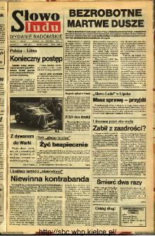 Słowo Ludu,1992 R.XLIII, nr 228 (wydanie radomskie)