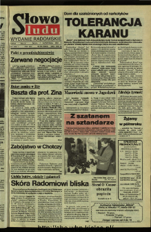 Słowo Ludu,1992 R.XLIII, nr 235 (wydanie radomskie)