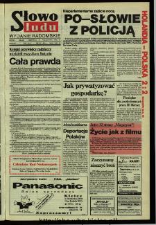 Słowo Ludu,1992 R.XLIII, nr 242 (wydanie radomskie)