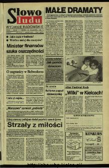 Słowo Ludu,1992 R.XLIII, nr 246 (wydanie radomskie)
