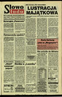 Słowo Ludu,1992 R.XLIII, nr 248 (wydanie radomskie)