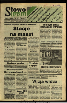 Słowo Ludu,1992 R.XLIII, nr 250