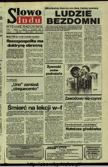 Słowo Ludu,1992 R.XLIII, nr 258 (wydanie radomskie)