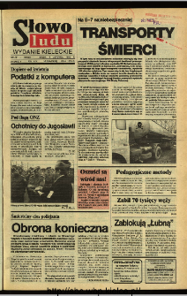 Słowo Ludu,1992 R.XLIII, nr 259