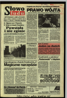 Słowo Ludu,1992 R.XLIII, nr 265