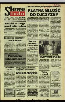 Słowo Ludu,1992 R.XLIII, nr 274