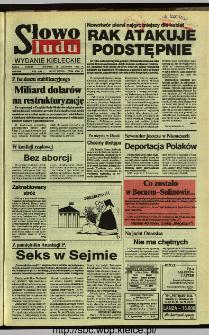 Słowo Ludu,1992 R.XLIII, nr 277
