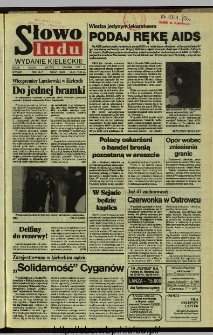 Słowo Ludu,1992 R.XLIII, nr 281