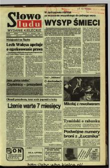 Słowo Ludu,1992 R.XLIII, nr 288