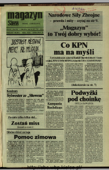 Słowo Ludu,1992 R.XLIII, nr 290 (magazyn)