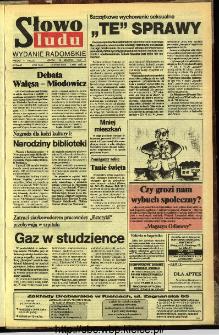 Słowo Ludu,1992 R.XLIII, nr 294 (wydanie radomskie)