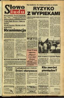 Słowo Ludu,1992 R.XLIII, nr 298 (wydanie radomskie)