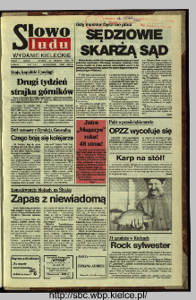 Słowo Ludu,1992 R.XLIII, nr 299
