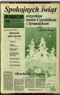 Słowo Ludu,1992 R.XLIII, nr 300 (magazyn)