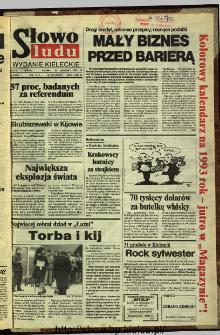 Słowo Ludu,1992 R.XLIII, nr 302