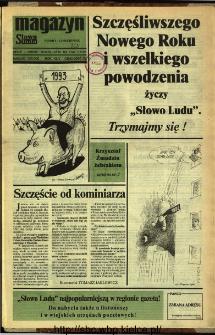 Słowo Ludu,1992 R.XLIII, nr 303 (magazyn)