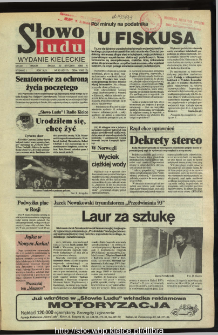 Słowo Ludu,1993 R.XLIV, nr 15
