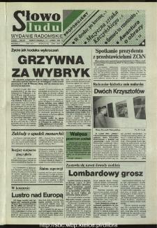 Słowo Ludu,1993 R.XLIV, nr 30 (wydanie radomskie)
