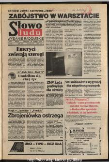 Słowo Ludu,1993 R.XLIV, nr 46 (wydanie radomskie)