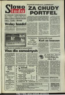 Słowo Ludu,1993 R.XLIV, nr 50 (wydanie radomskie)