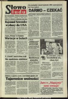 Słowo Ludu,1993 R.XLIV, nr 58 (wydanie radomskie)