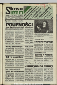 Słowo Ludu,1993 R.XLIV, nr 72