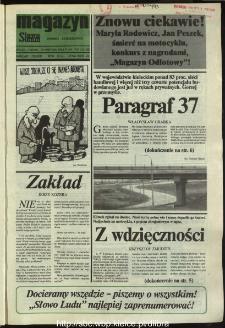 Słowo Ludu,1993 R.XLIV, nr 87 (magazyn)