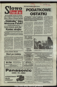 Słowo Ludu,1993 R.XLIV, nr 100