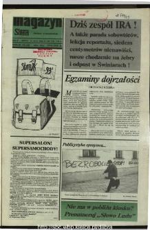 Słowo Ludu,1993 R.XLIV, nr 109 (magazyn)