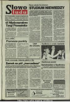 Słowo Ludu,1993 R.XLIV, nr 134 (wydanie radomskie)
