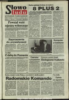 Słowo Ludu,1993 R.XLIV, nr 135 (wydanie radomskie)