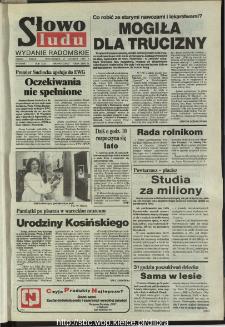 Słowo Ludu,1993 R.XLIV, nr 140 (wydanie radomskie)