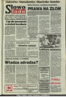 Słowo Ludu,1993 R.XLIV, nr 142 (Ostrowiec-Starachowiece-Skarżysko-Końskie)