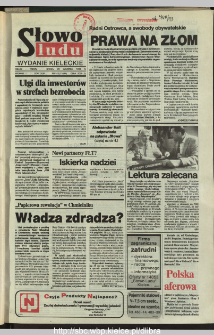 Słowo Ludu,1993 R.XLIV, nr 142
