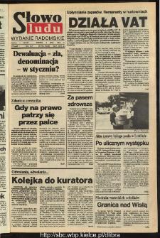 Słowo Ludu,1993 R.XLIV, nr 153 (wydanie radomskie)