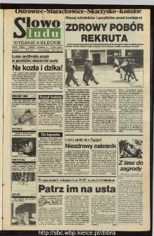 Słowo Ludu,1993 R.XLIV, nr 157 (Ostrowiec-Starachowiece-Skarżysko-Końskie)