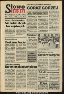 Słowo Ludu,1993 R.XLIV, nr 159 (wydanie radomskie)