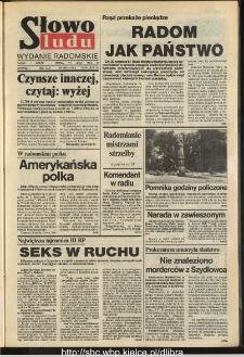 Słowo Ludu,1993 R.XLIV, nr 160 (wydanie radomskie)