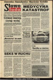 Słowo Ludu,1993 R.XLIV, nr 160 (Ostrowiec-Starachowiece-Skarżysko-Końskie)