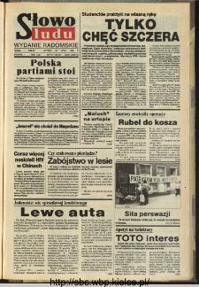 Słowo Ludu,1993 R.XLIV, nr 171 (wydanie radomskie)