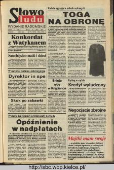 Słowo Ludu,1993 R.XLIV, nr 172 (wydanie radomskie)