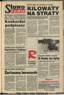 Słowo Ludu,1993 R.XLIV, nr 173 (wydanie radomskie)